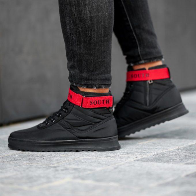 Кроссовки Anomality BLACK/RED - фото 1