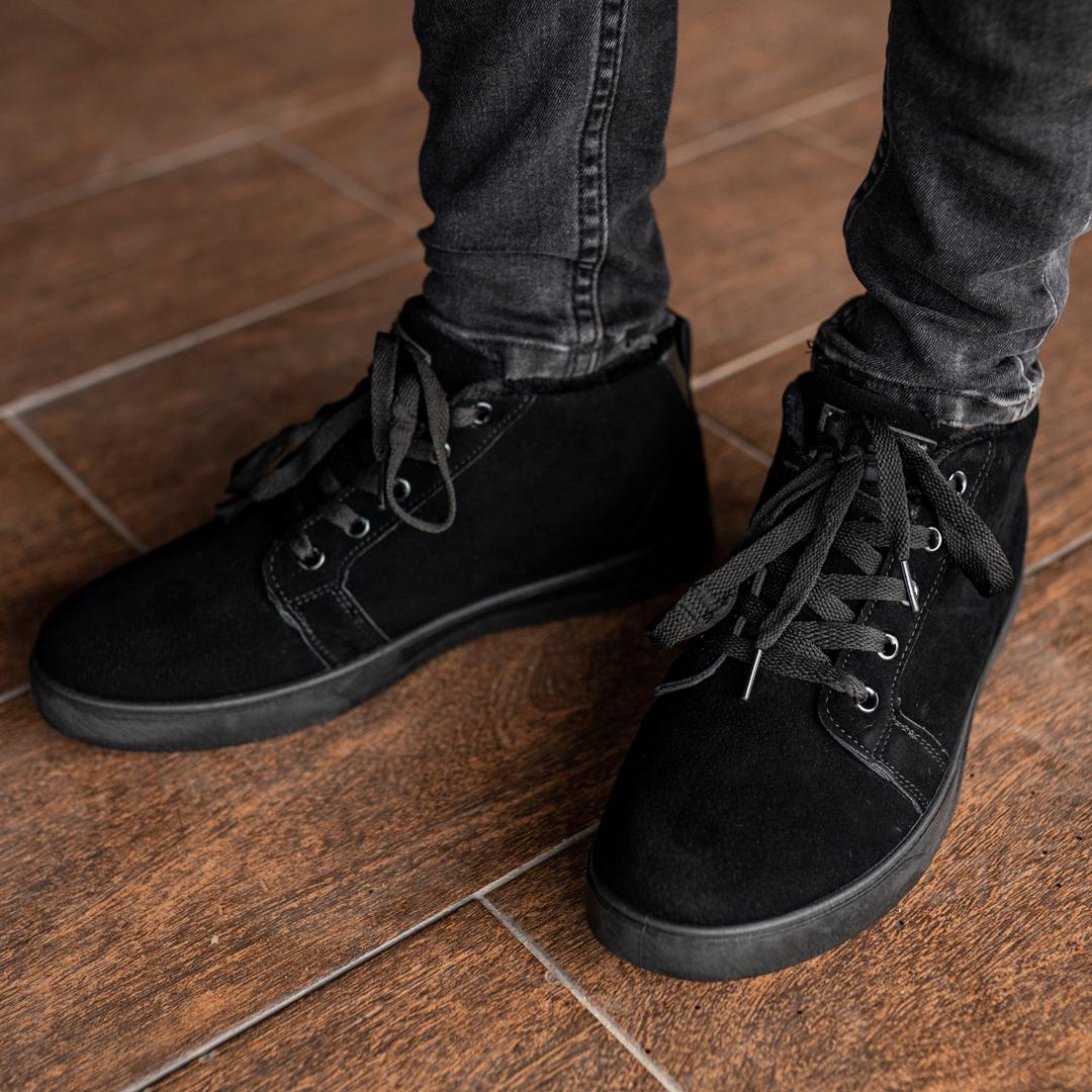 Мужские зимние ботинки на меху 1035 - фото 3