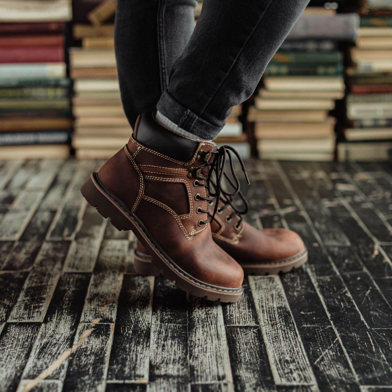 Ботинки South Graft brown - фото 4