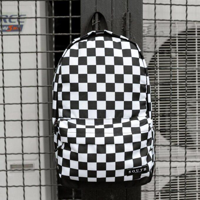 Комплект Рюкзак + Бананка checkers - фото 1