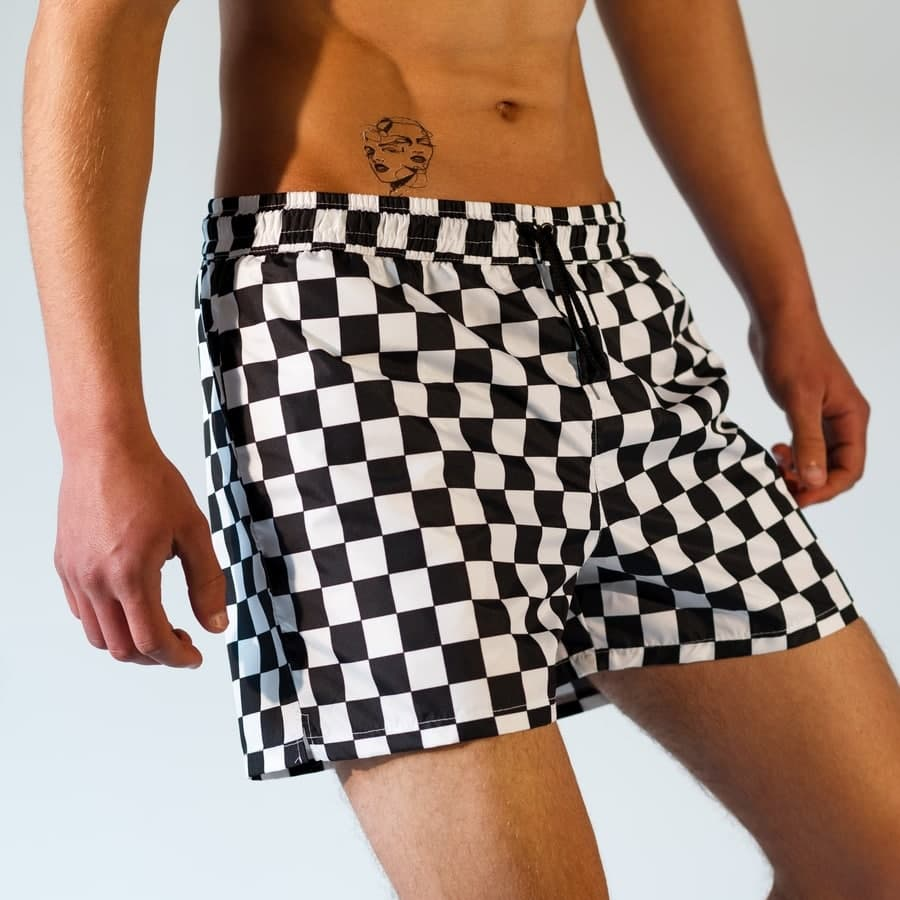 Плавательные шорты South Checkers - фото 1