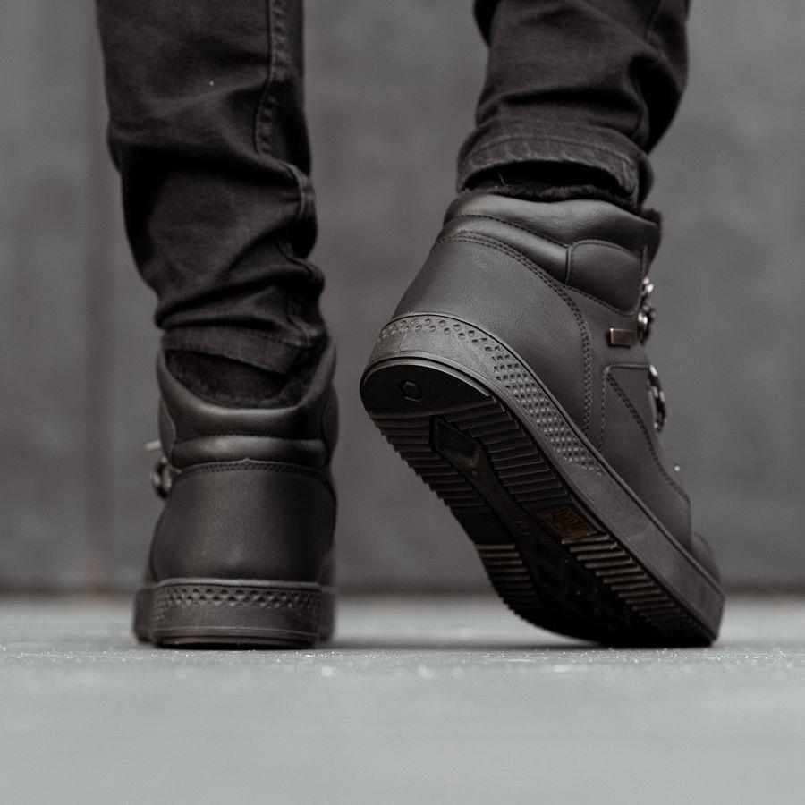 Мужские зимние ботинки на меху 0962 - фото 3