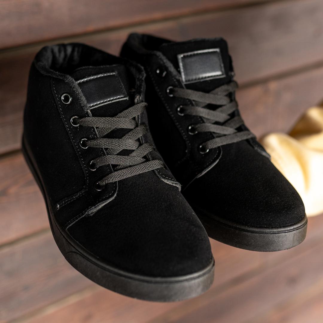 Мужские зимние ботинки на меху 1035 - фото 1
