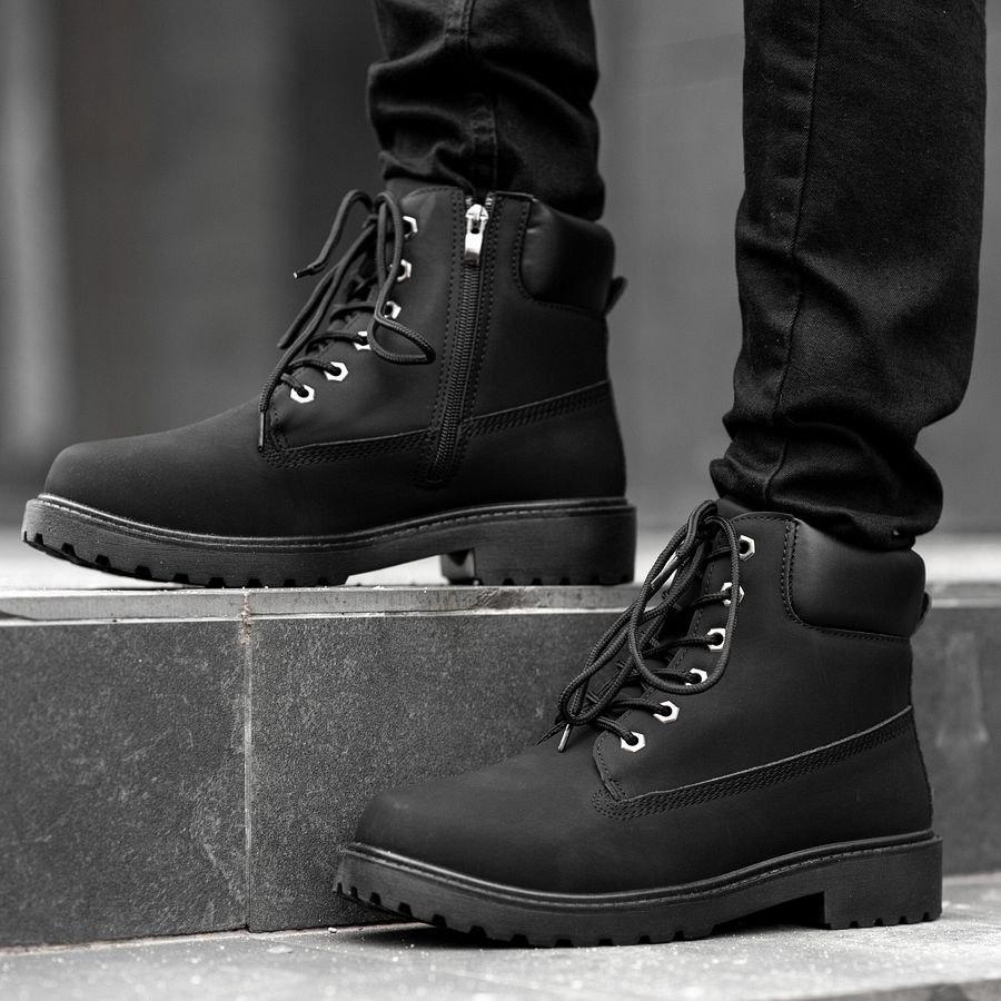 Мужские зимние ботинки на меху 0969