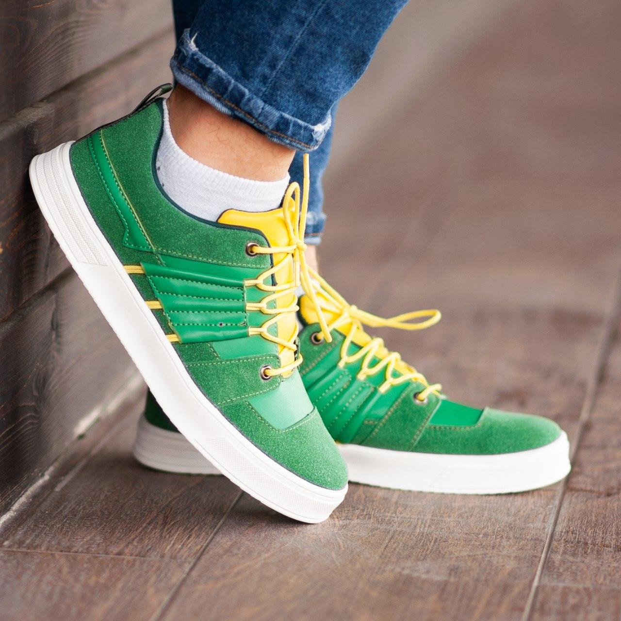 Кеды South Mason GREEN/YELLOW