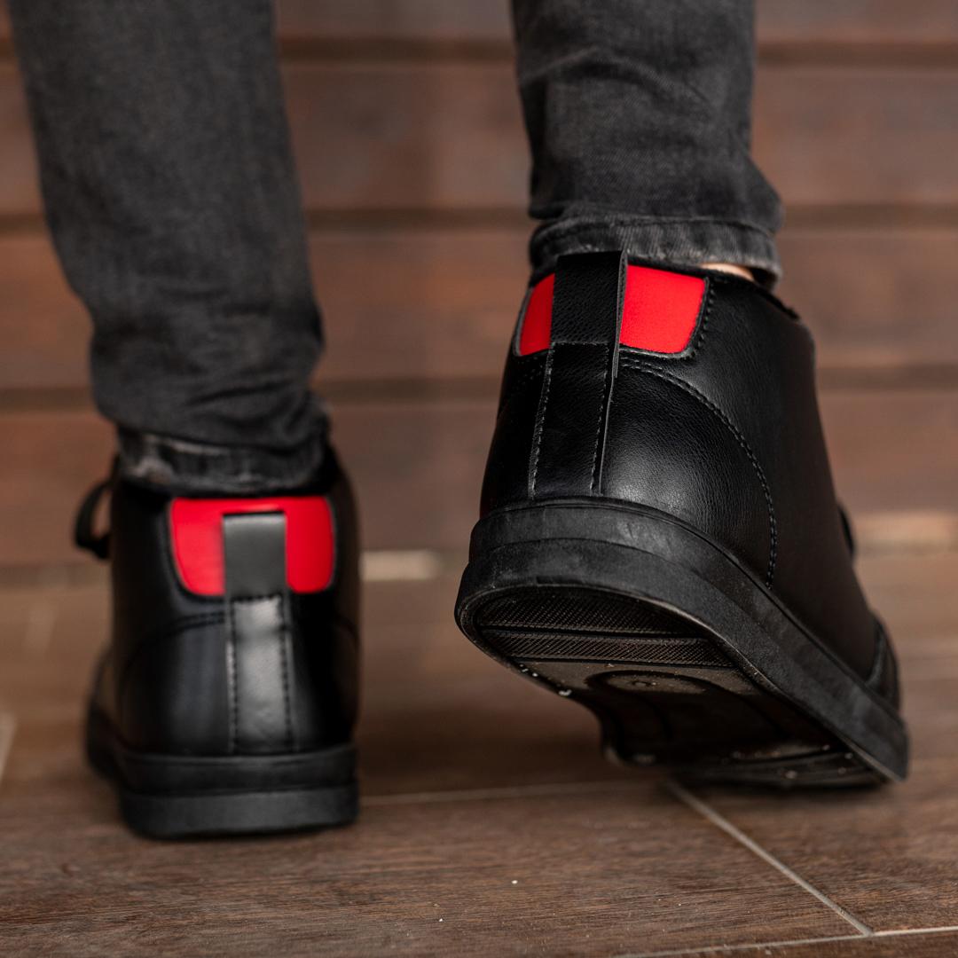 Мужские зимние ботинки на меху 1034 - фото 4