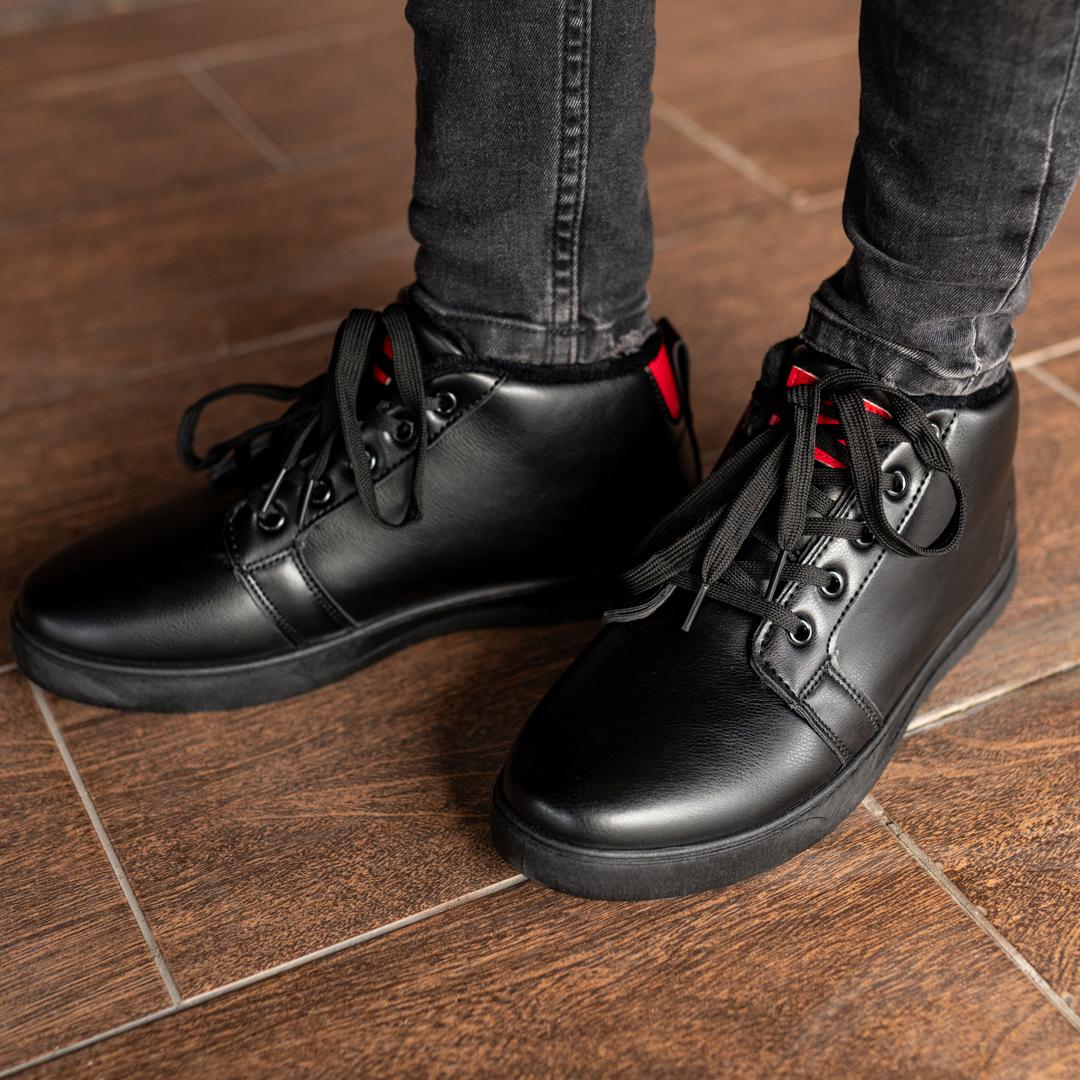 Мужские зимние ботинки на меху 1034 - фото 3