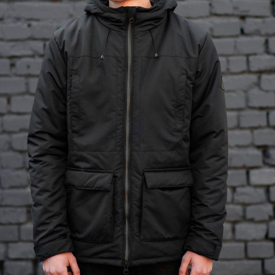 Зимняя куртка South originals black winter - фото 1