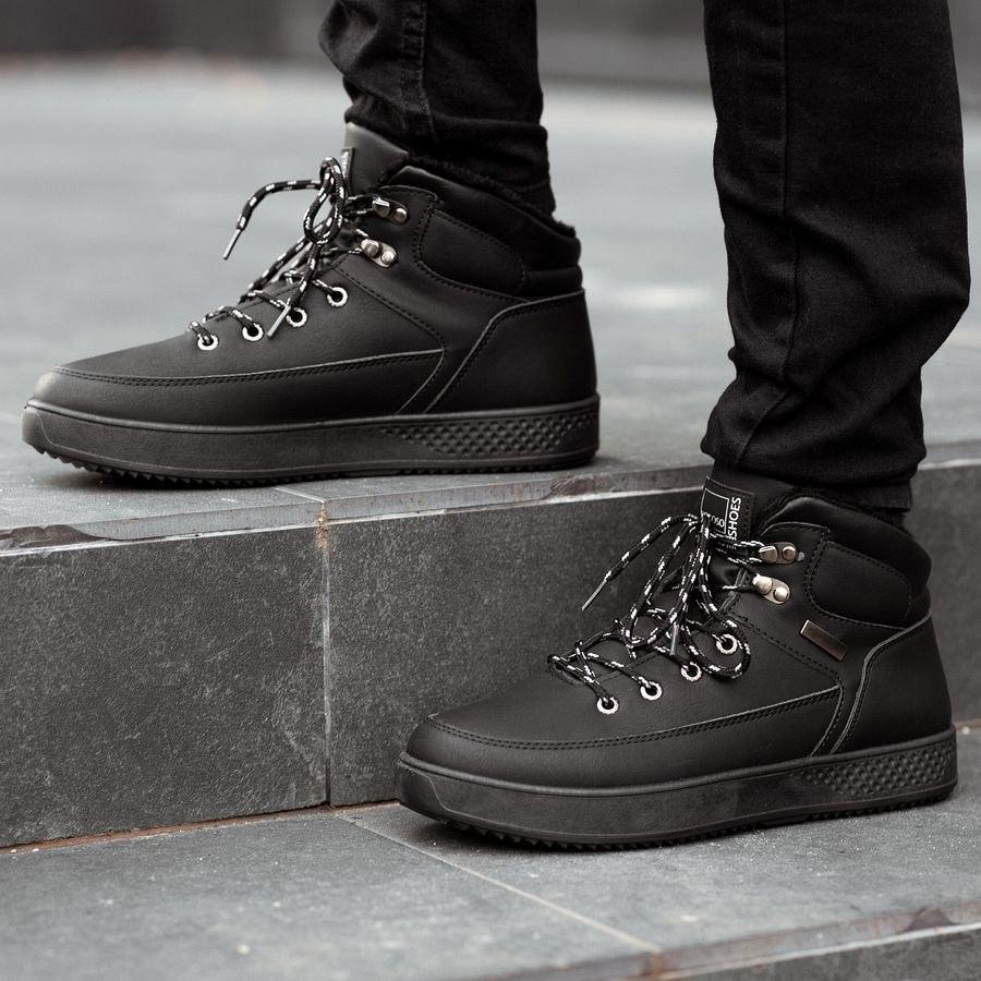 Мужские зимние ботинки на меху 0962