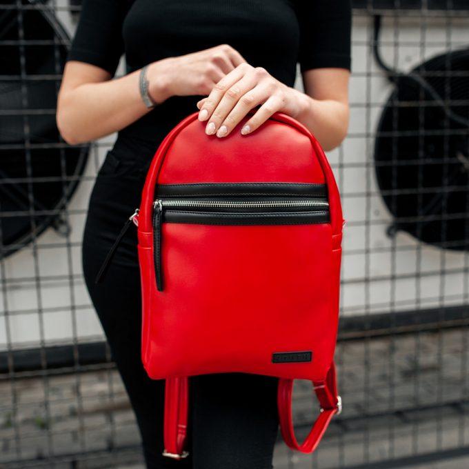 Рюкзак женский South Met Red - фото 4
