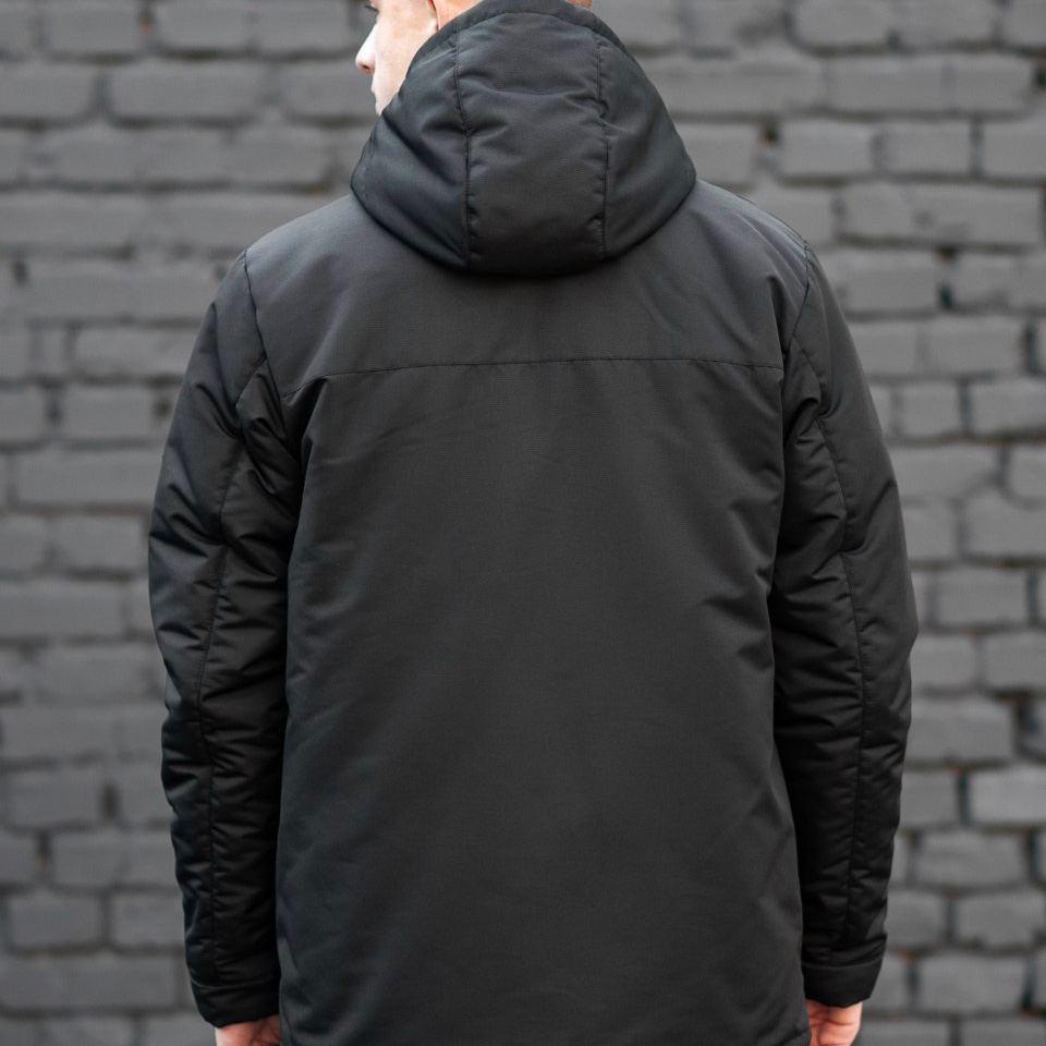 Зимняя куртка South originals black winter - фото 3