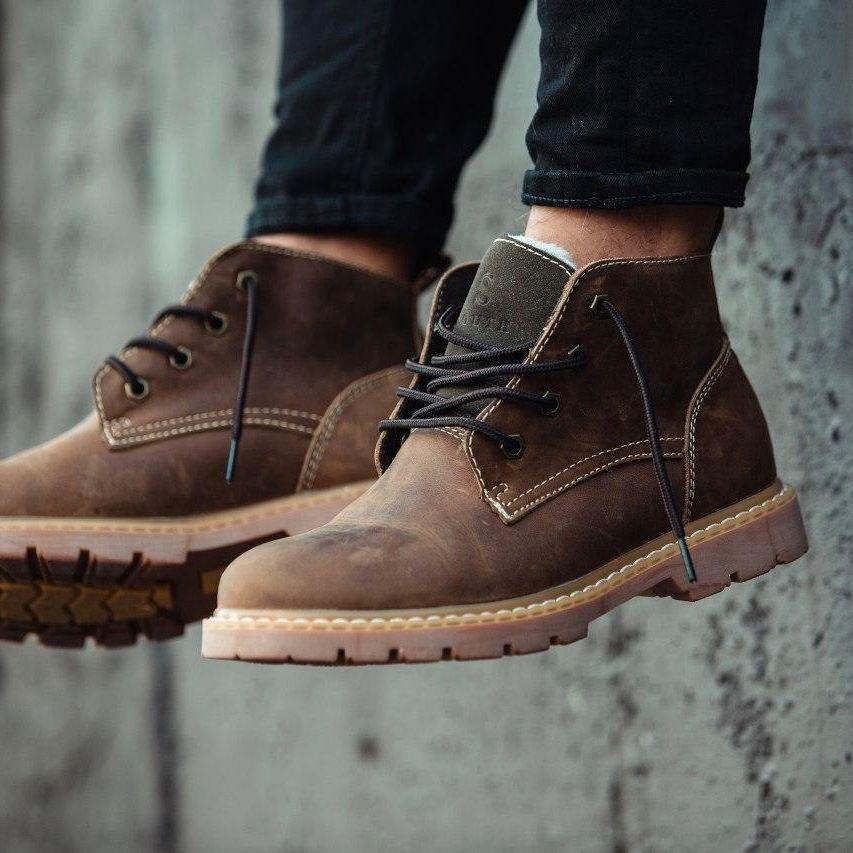 Ботинки South Jaston brown - фото 2