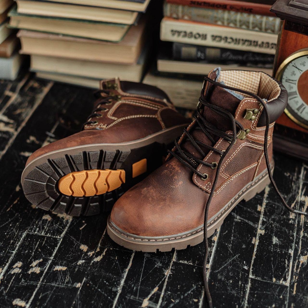 Ботинки South Graft brown - фото 2