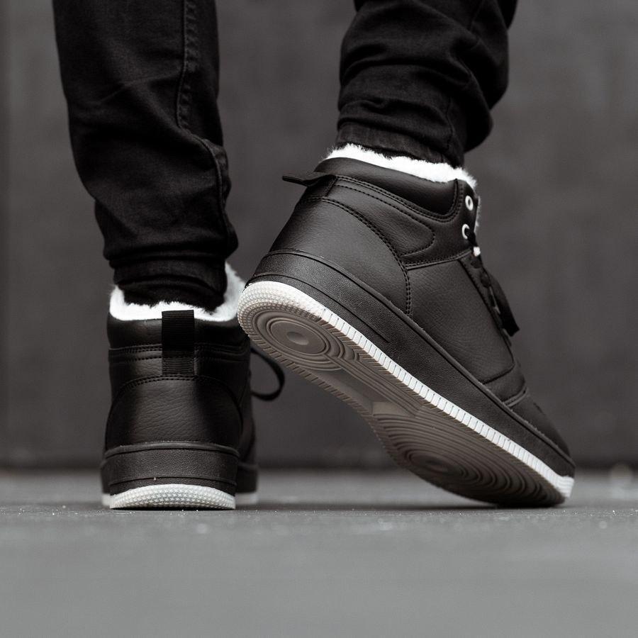 Мужские зимние кроссовки на меху 0957 - фото 2