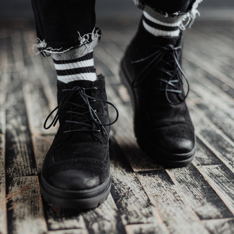 Ботинки South mist black - фото 3