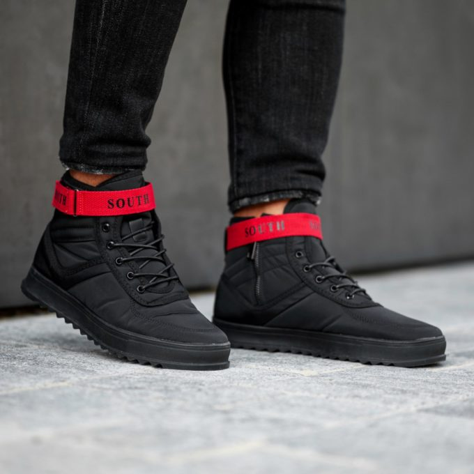 Кроссовки Anomality BLACK/RED