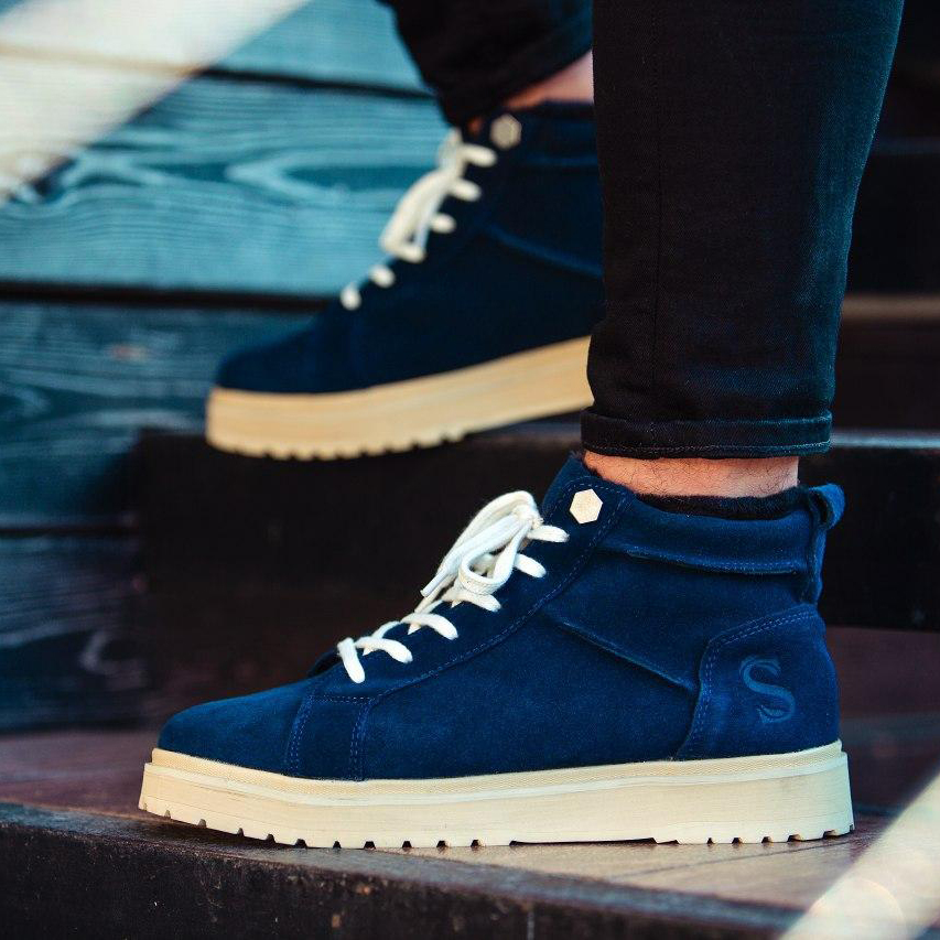 Ботинки South navy dark blue