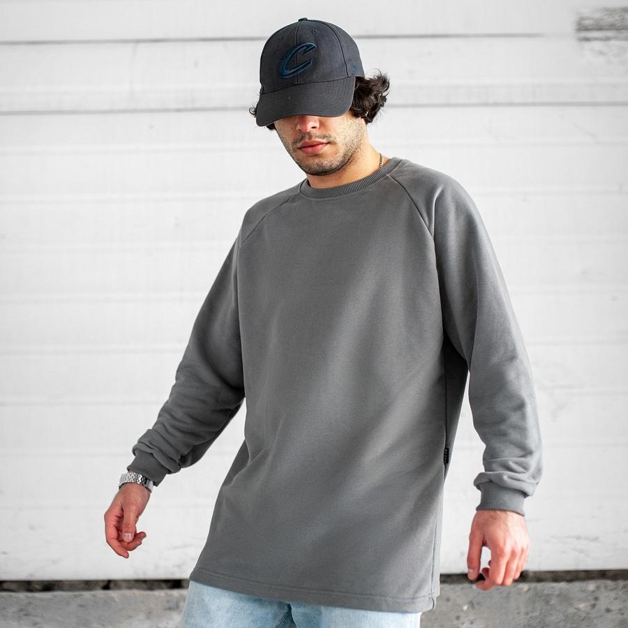 Свитшот South Oversize gray (без манжета) - фото 1