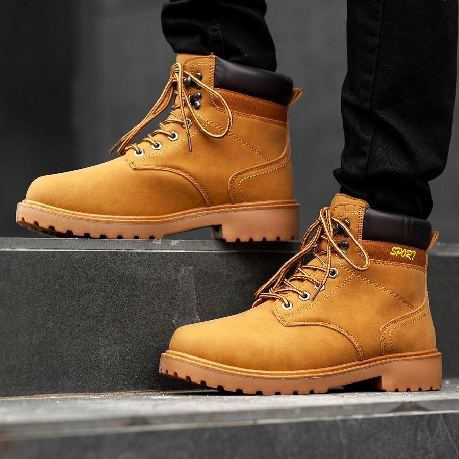 Мужские зимние ботинки на меху 0965