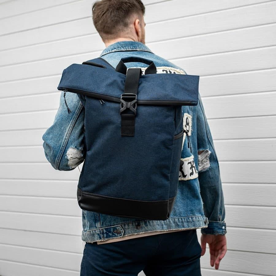 Рюкзак South ROLLTOP Classic Blue  - фото 1
