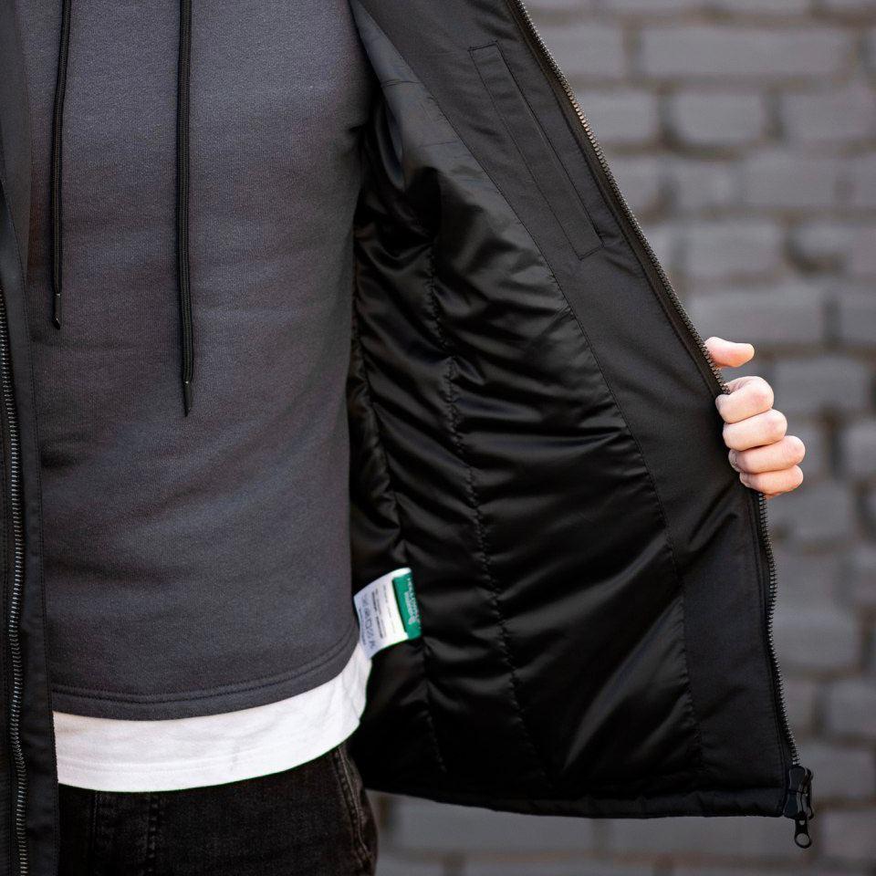 Зимняя куртка South originals black winter - фото 6
