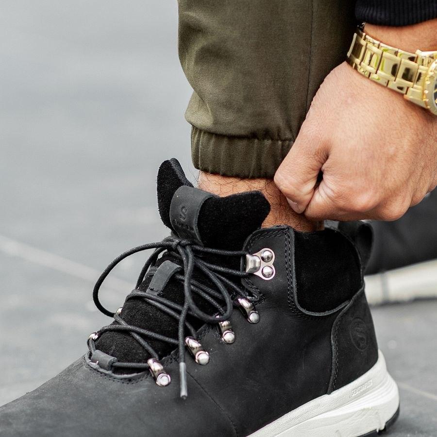 Теплые штаны джоггеры South khaki - фото 4