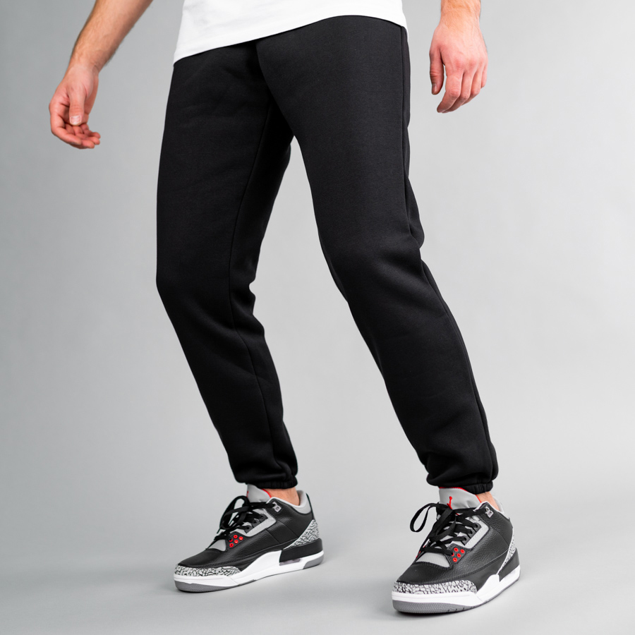 Спортивные штаны South basic  black fleece