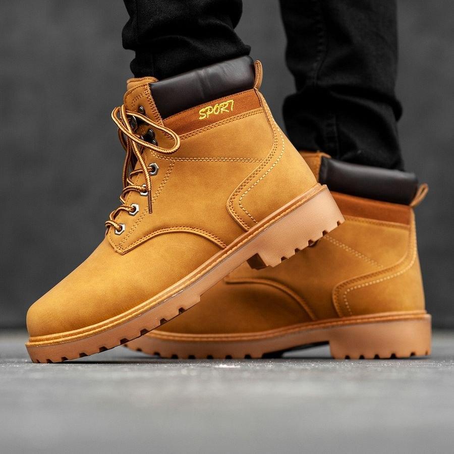 Мужские зимние ботинки на меху 0965 - фото 3