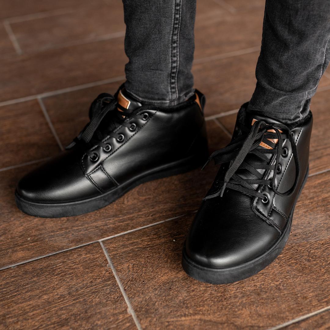 Мужские зимние ботинки на меху 1033 - фото 3