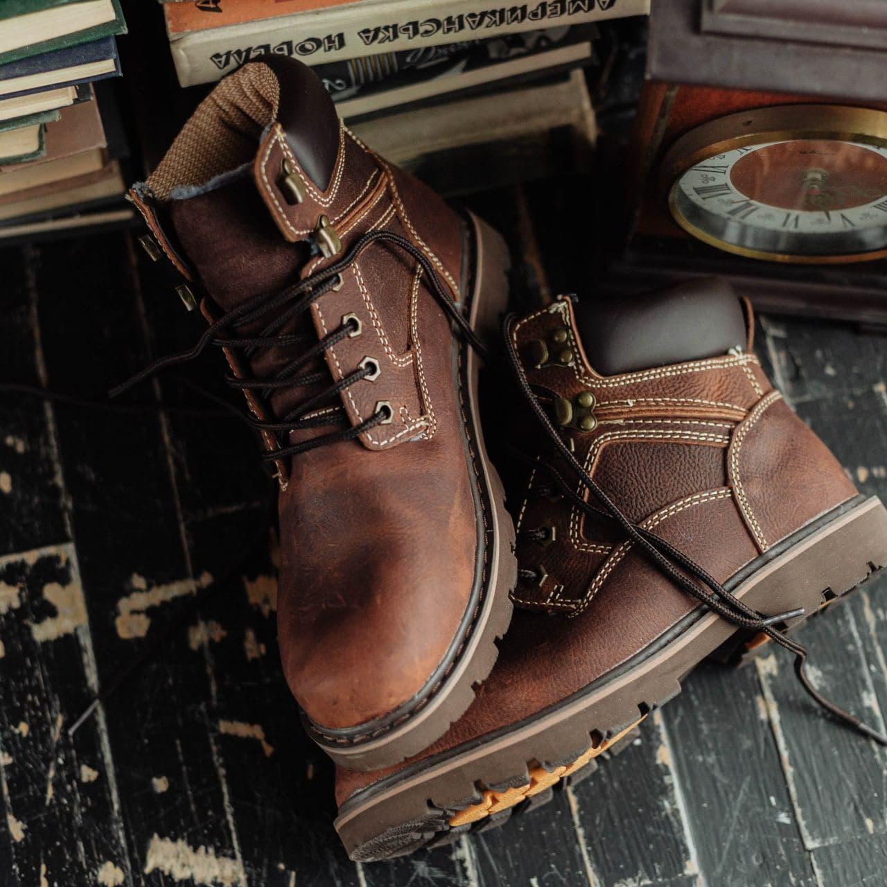 Ботинки South Graft brown - фото 6