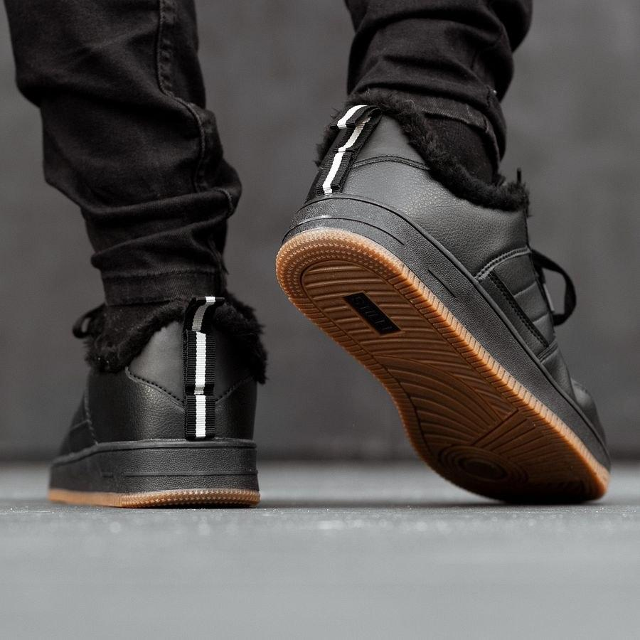 Мужские зимние кроссовки на меху 0958 - фото 1