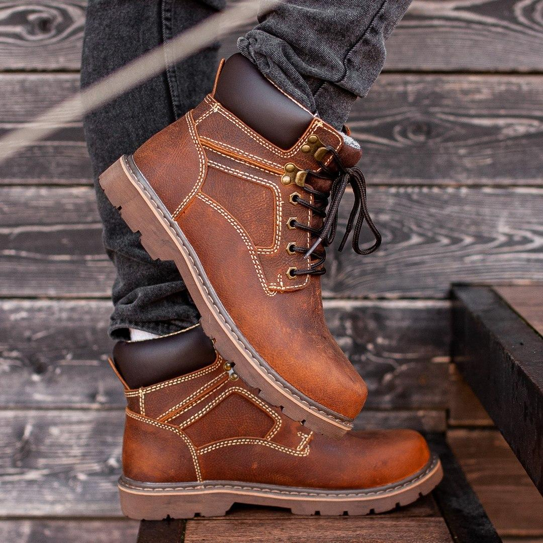 Ботинки South Graft brown