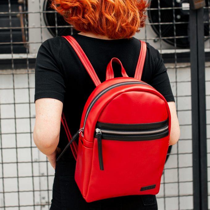 Рюкзак женский South Met Red - фото 3