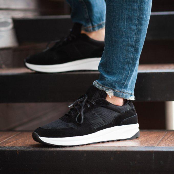 Кроссовки South Soft Step black - фото 1