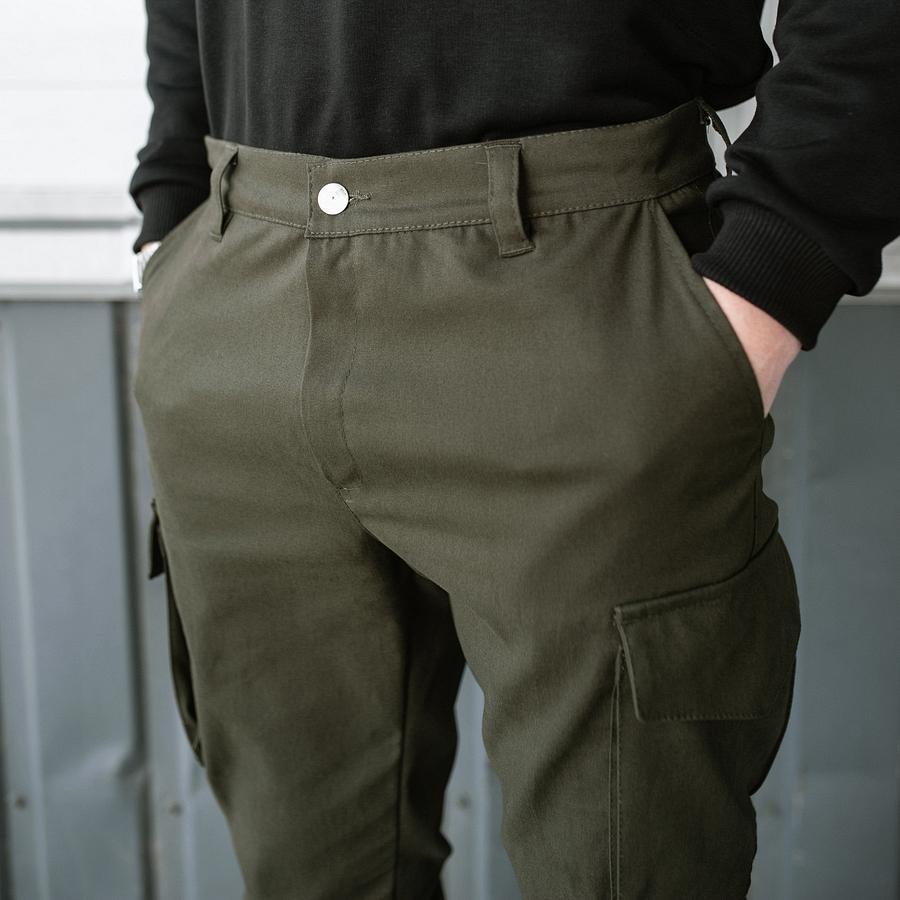 Карго штаны South khaki - фото 3