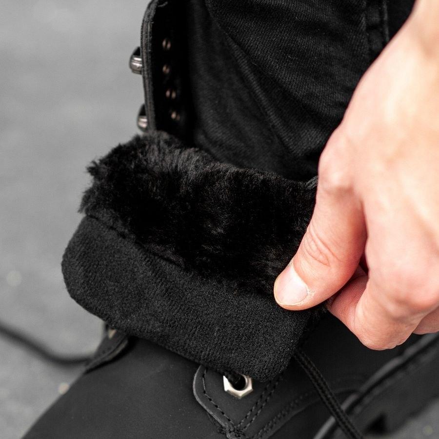Мужские зимние ботинки на меху 0966 - фото 2