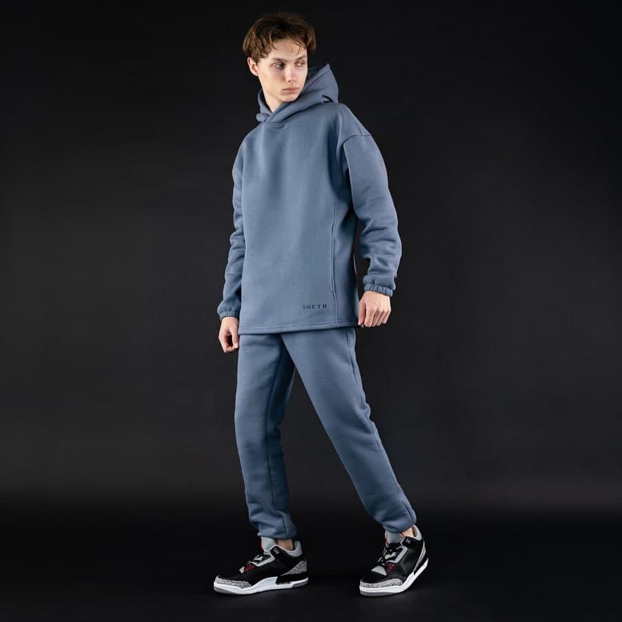 Спортивный костюм South mamba gray oversize fleece