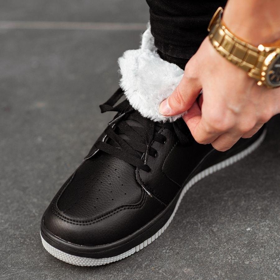 Мужские зимние кроссовки на меху 0957 - фото 1