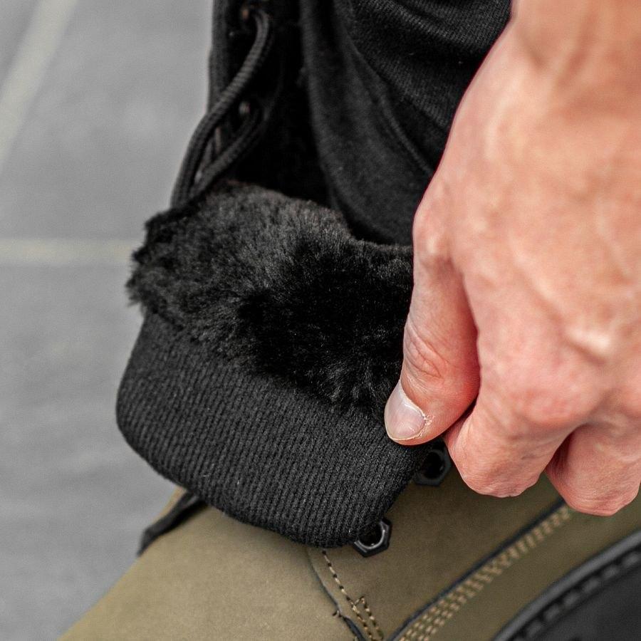 Мужские зимние ботинки на меху 0967 - фото 2