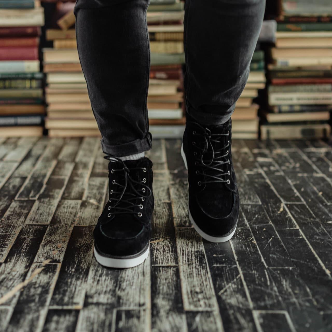 Ботинки South indigo black - фото 4