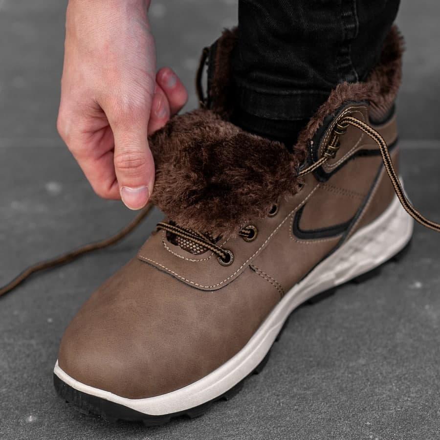 Мужские зимние ботинки на меху 0971 - фото 5