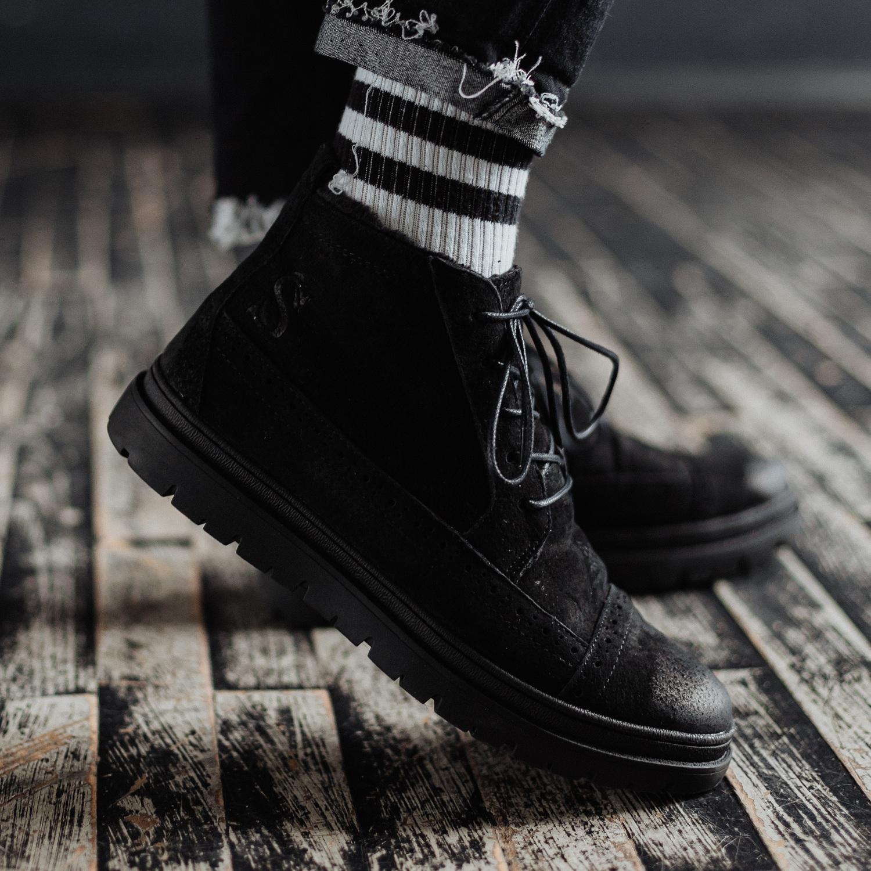 Ботинки South mist black - фото 2