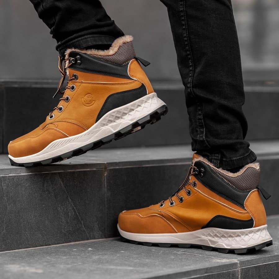 Мужские зимние ботинки на меху 0973 - фото 4