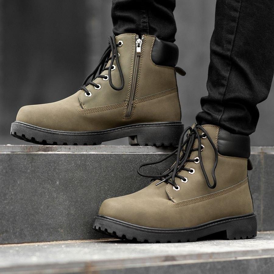 Мужские зимние ботинки на меху 0968