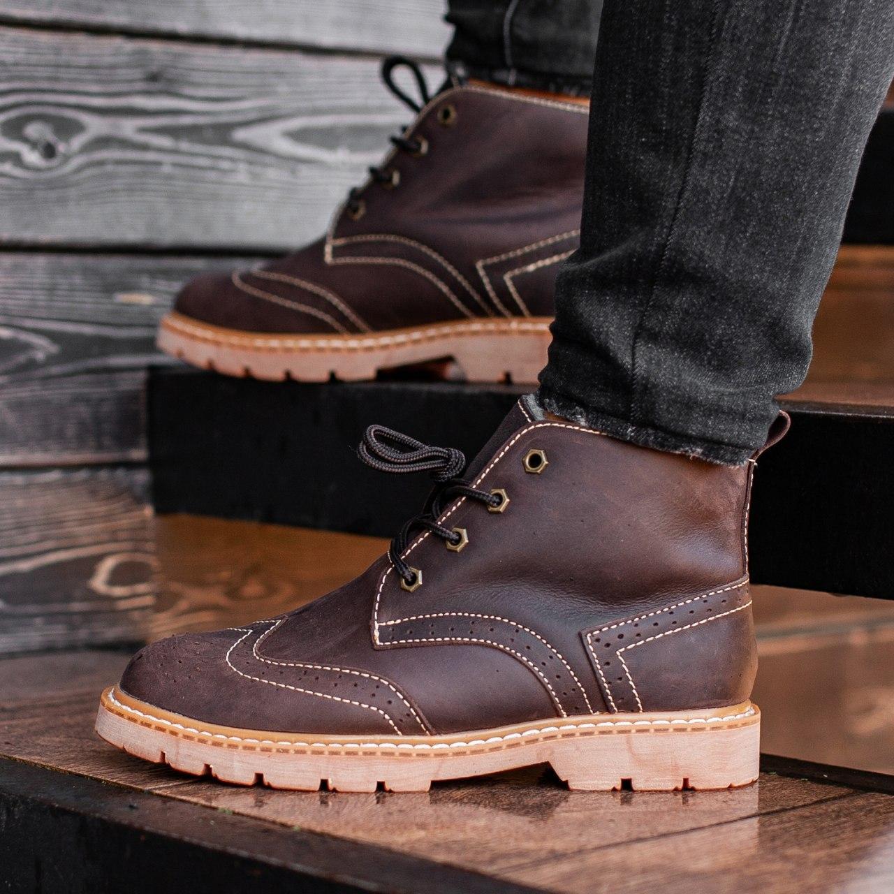 Ботинки South Rebel brown - фото 1