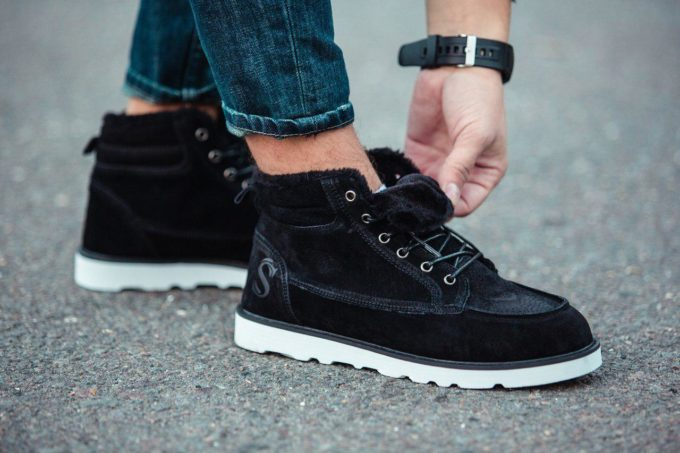 Ботинки South indigo black - фото 1