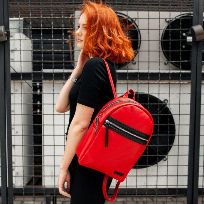 Рюкзак женский South Met Red - фото 1