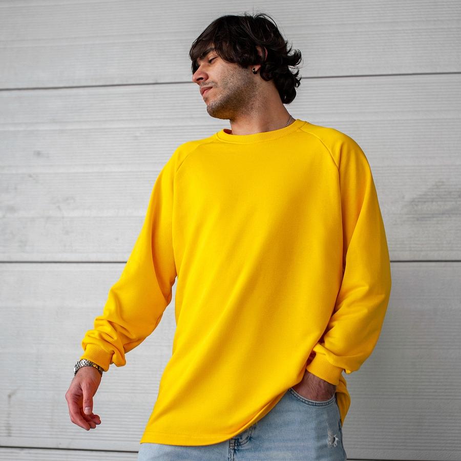 Свитшот South Oversize yellow (без манжета) - фото 1