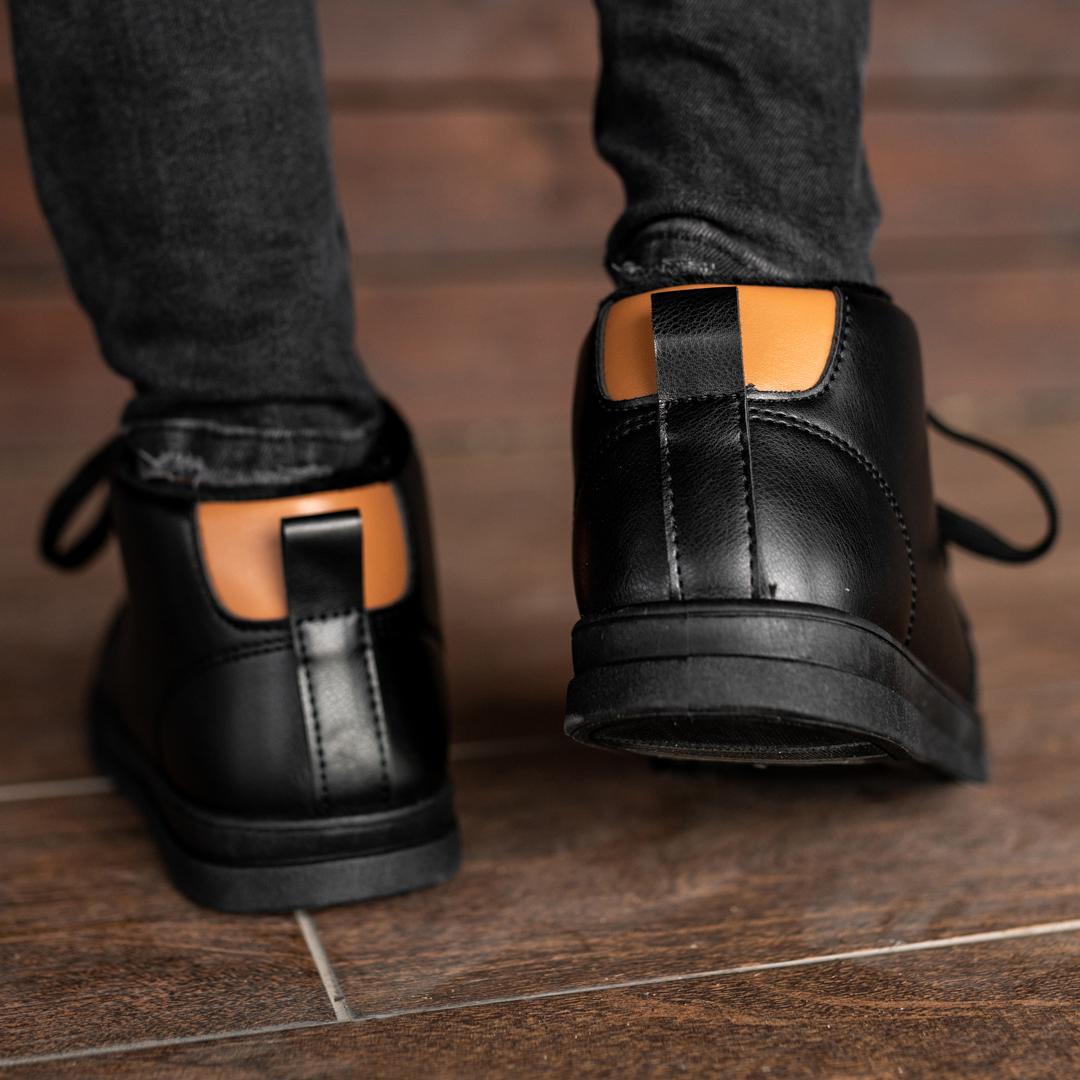 Мужские зимние ботинки на меху 1033 - фото 4