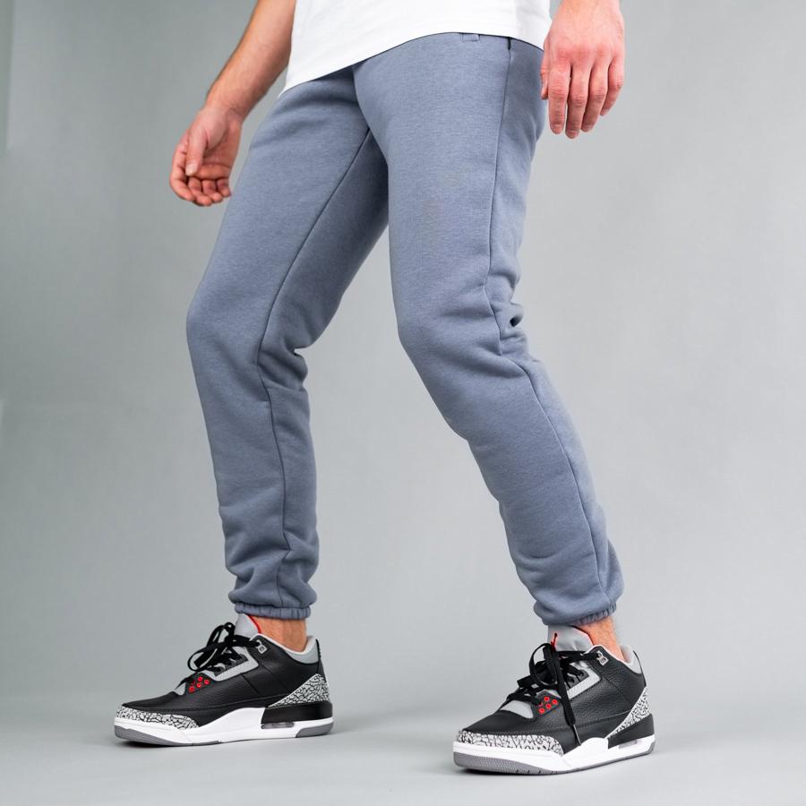 Спортивные штаны South basic  gray fleece